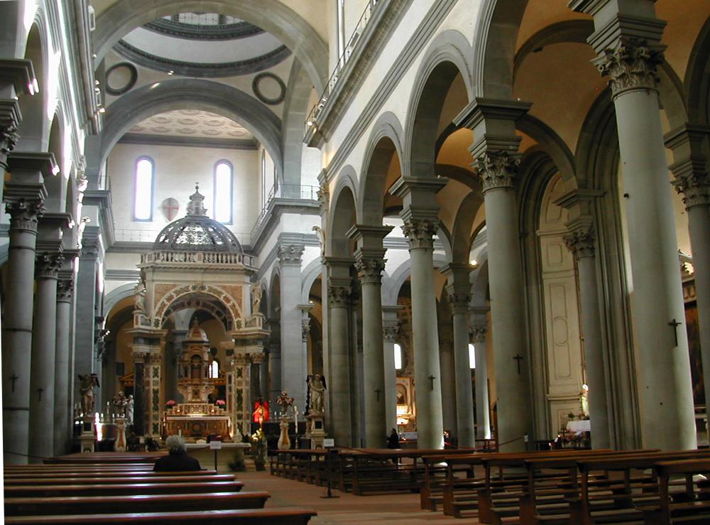 Santa Maria del Santo Spirito interior