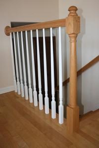 Offending railing